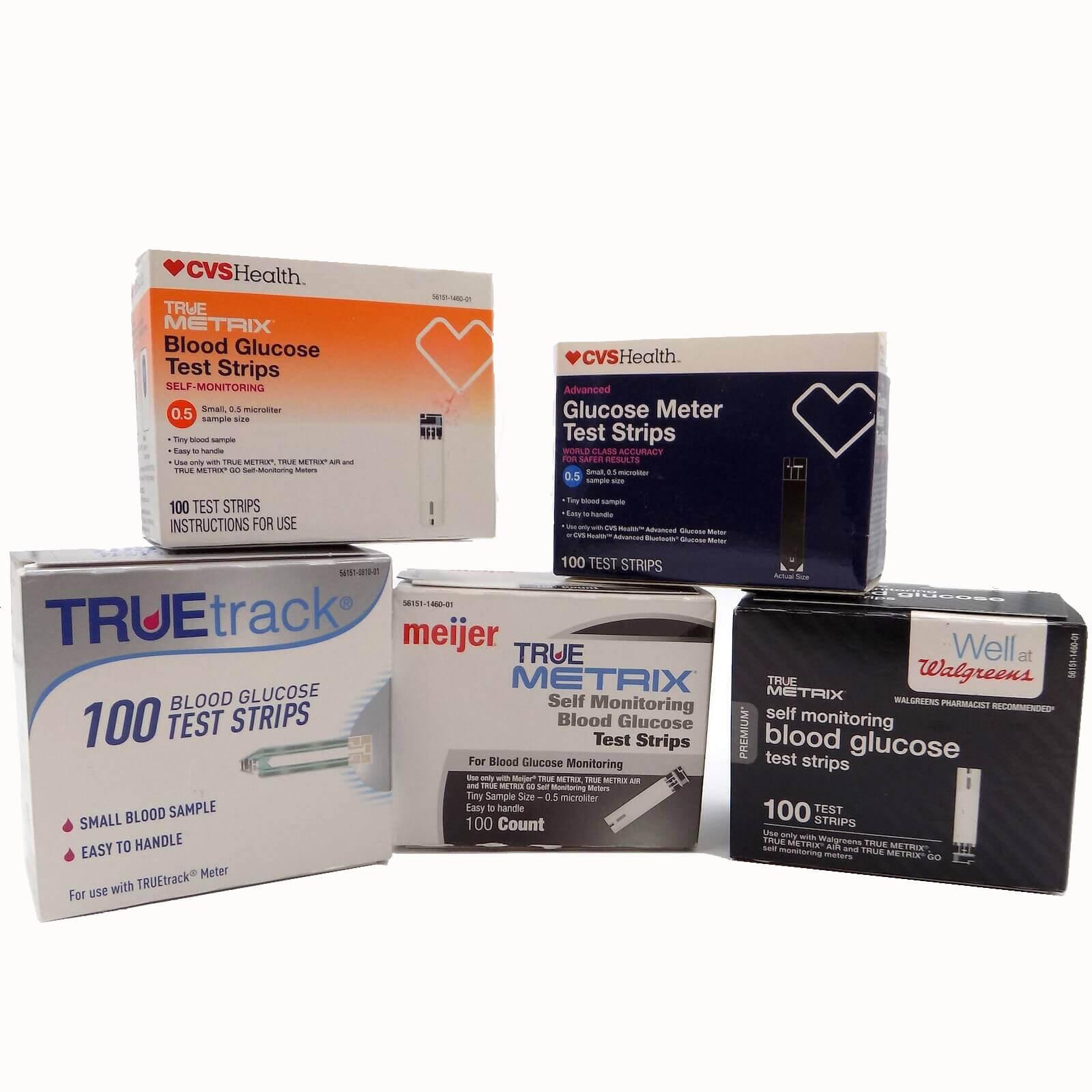 True Metrix, True Test, Advocate, Glucocard, Embrace, Inform II